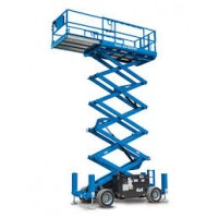 SCISSOR LIFT - 13.1M - 43FT - 4X4 - DIESEL
