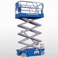 SCISSOR LIFT - 7.6M - 26FT - ELECTRIC
