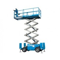 SCISSOR LIFT - 9.8M - 32FT - 4X4 - DIESEL
