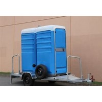 TOILET - TRAILER MOUNTED - FRESH FLUSH - DUAL TOILET