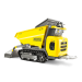 DUMP TRUCK 0.8T PAYLOAD WACKER for hire in Sydney from Complete Hire