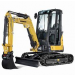 EXCAVATOR 5.5T YANMAR - ZERO SWING - CABIN - STEEL TRACK for hire in Sydney from Complete Hire
