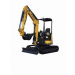 EXCAVATOR 5.5T YANMAR - ZERO SWING - CABIN - RUBBER TRACK for hire in Sydney from Complete Hire